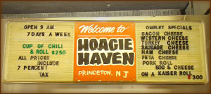 Hoagie Haven Sign